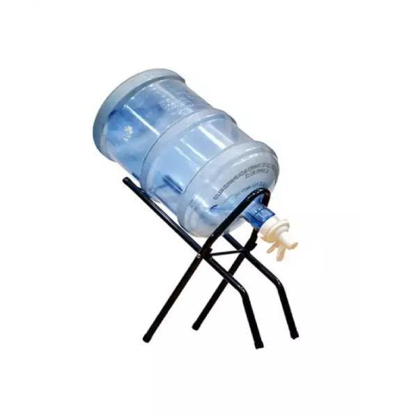 Foldable Water Bottle Stand With Nozzle Valve Set