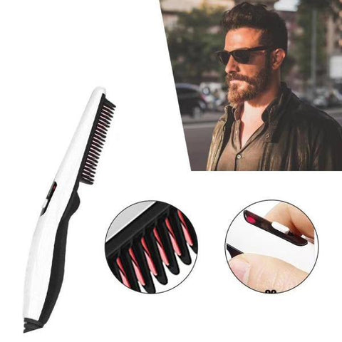 Electric Styling Comb Quick Heating Hair, Beard Straightener