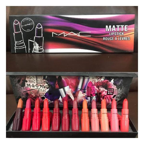 Mac 12 Pcs Lipsticks Tray