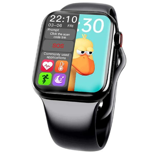 HW12 Smart Watch Apple Watch Series 6 Master Clone with Split Screen Display Siri Bluetooth Call