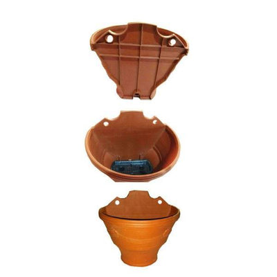 Large Wall Hanger Pot for Flowers 10 x 9 inch - Paksa Pk