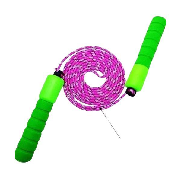 2.5m Adjustable Lenght Jumping Rope with Sponge Handle