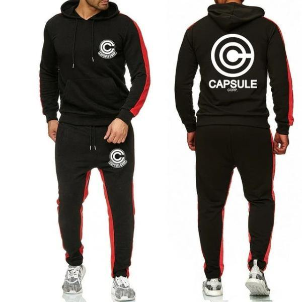 Anime Capsule Corp Champions Tracksuit for Men