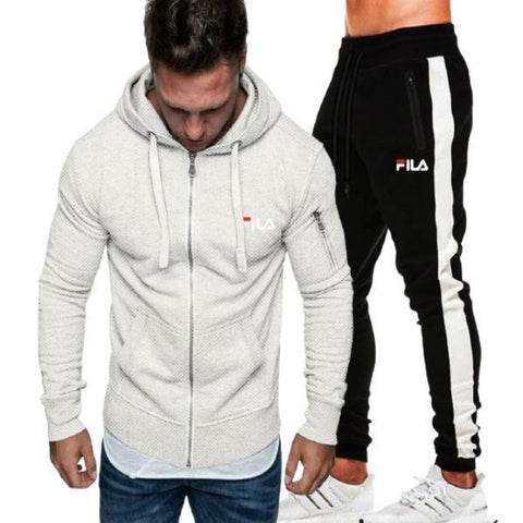 Warm Fleece Terry Winter Tracksuit for Men