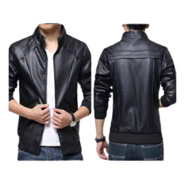 Faux Leather Jacket for Men