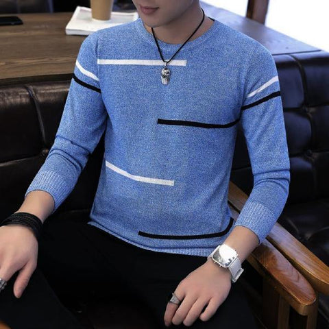 Roundneck Pullovers Winter Jersey