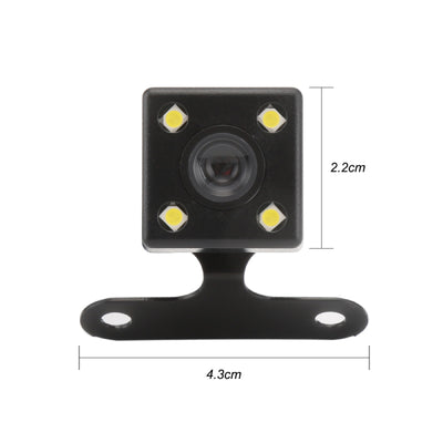 4 Led Reverse Camera Night Vision HD Rear View Camara Lens 2.5mm