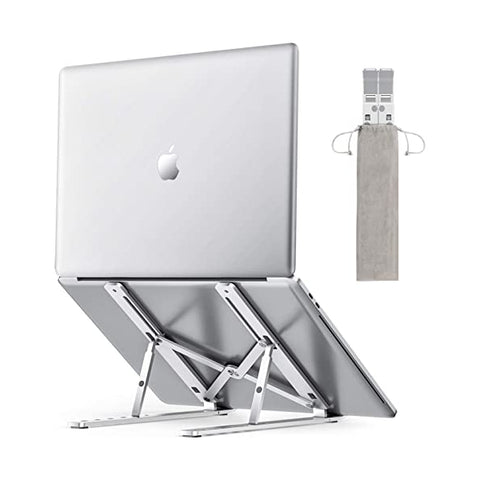 Portable Adjustable Foldable Aluminum Laptop Stand for Desk
