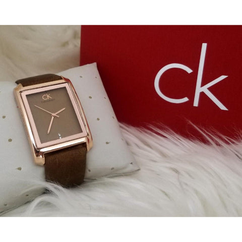 Calvin Klien Sweet Leather Strap Watch