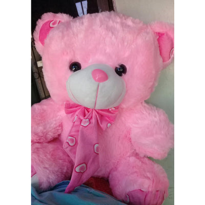 Soft Toy Pink Teddy Bear