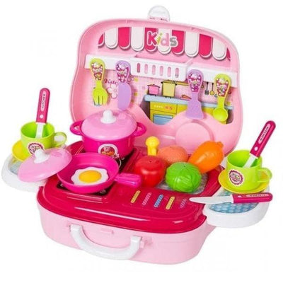 Baby Gift Kitchen Cook Pretend Play Set
