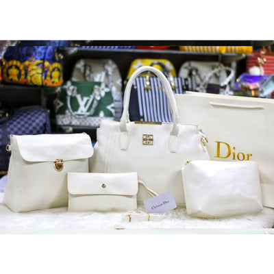 4 Pcs Christian Dior Style Bag for Women