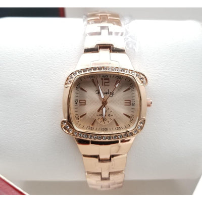 Revelry Stainless Steel Analog Rose Gold Watch for Women