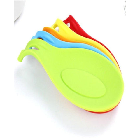 Flexible Silicone Heat Resistant Spoon Spatula Holder