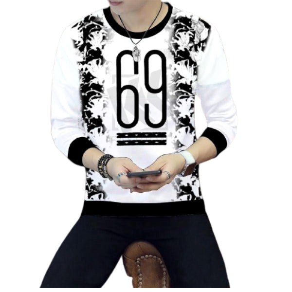 Full Sleeve Printed Summer Jersey T-shirt