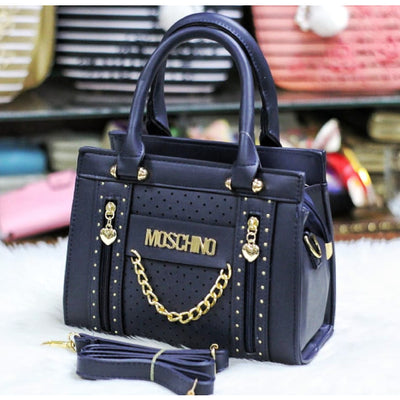 MOSCHINO Hand Bag with Long Strap for Ladies