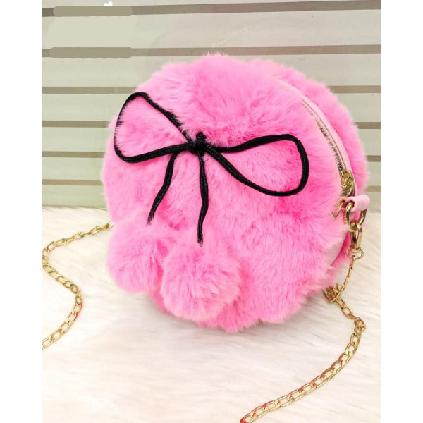 Fluffy Furr Korean Style Crossbody Bag for Women