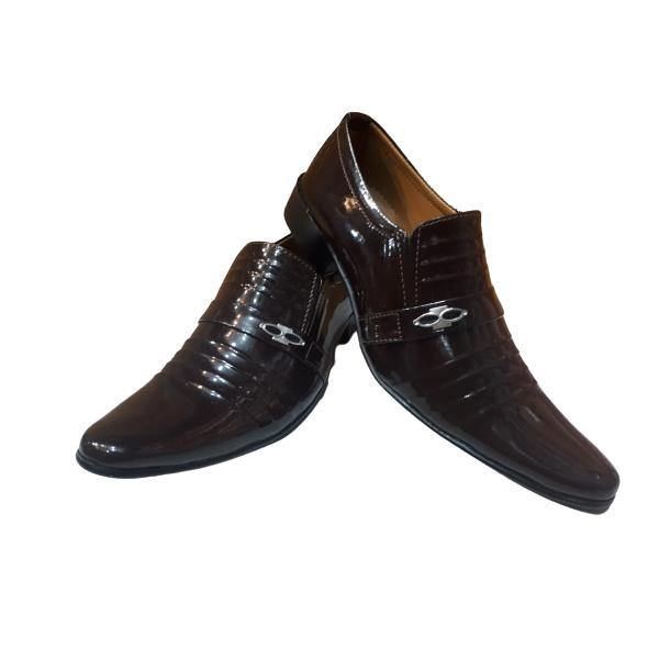 Leather Brown Formal Shoes for Men