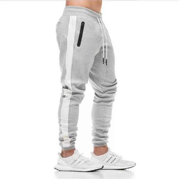 Men's Gym Jogger Pants with Zipper Pockets - Paksa Pk