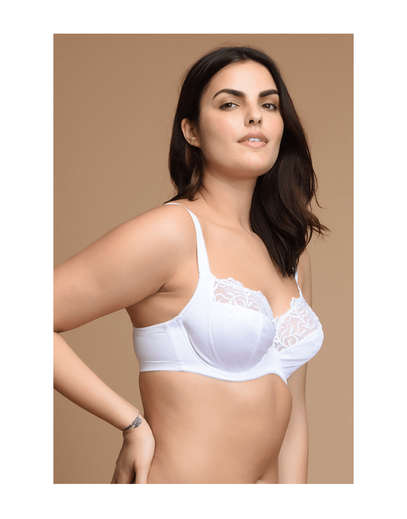 Beautiful Neckline High Support Bra - Paksa Pk