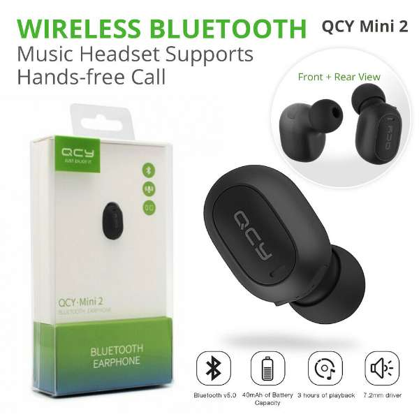 QCY Mini 2 Bluetooth Handsfree - Paksa Pk