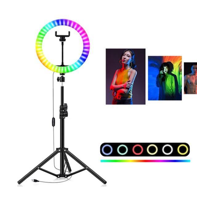Selfie Ring Light With 26 Multi Color Mode