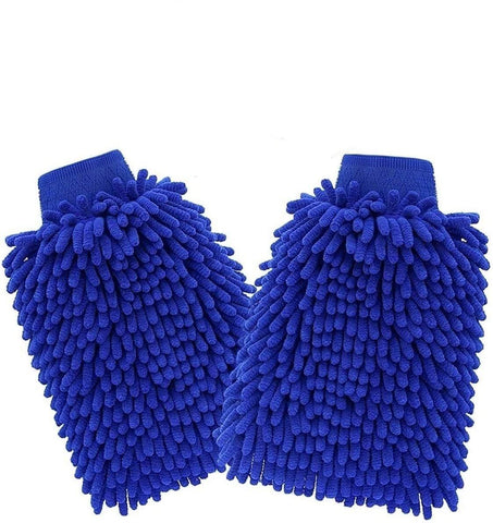 Microfiber Cloth Cleaning Mitten Glove For Car