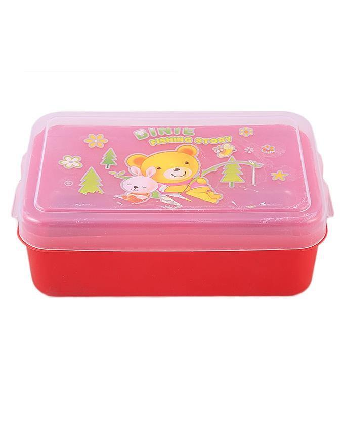 Lunch Box For Kids-Red
