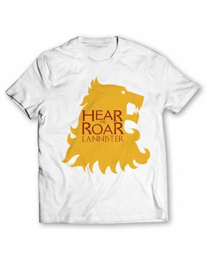 Hear Roar Printed T-shirt For Kid - Paksa Pk