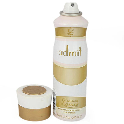 Admit Body Spray by Creation Lamis For Women-200 ML - Paksa Pk