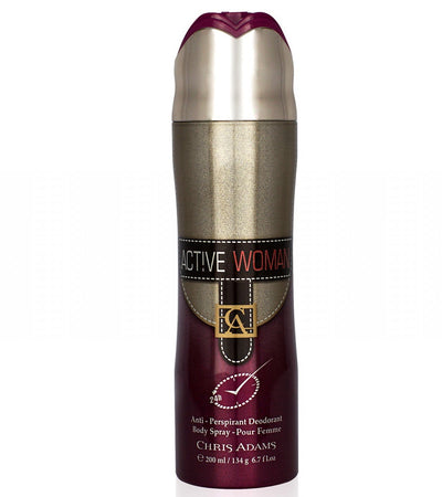 Active Woman Body Spray Deodorant For Women-200 ML - Paksa Pk