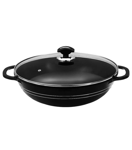 Deluxe Cooking Karahi PTF Non Stick Coating 28cm - Paksa Pk