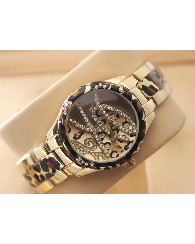 GOLDEN STAINLESS STEEL WATCH FOR WOMEN - Paksa Pk