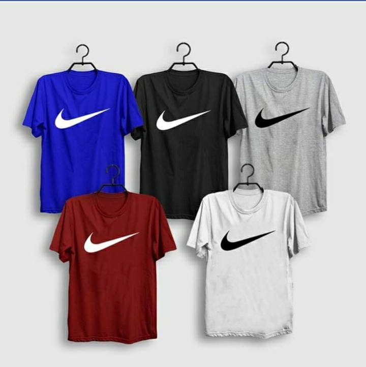Pack Of 5 Multi-color Round Neck With Half Sleeves T Shirt For Men - Paksa Pk