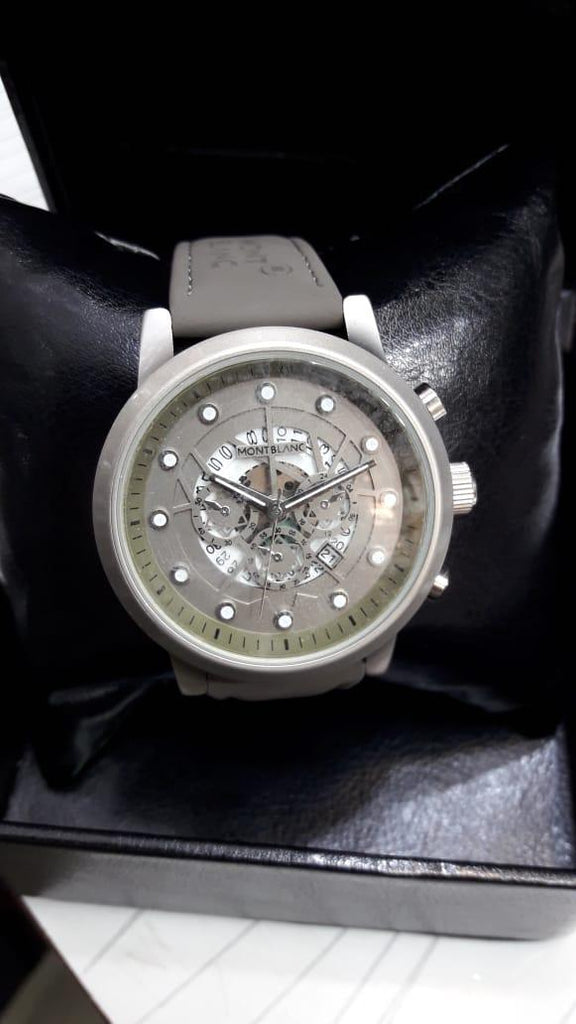 New Grey Stylish Watch For Men - Paksa Pk