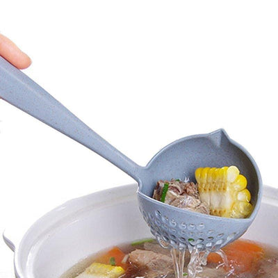 2 IN 1 LONG HANDLE SOUP SPOON - Paksa Pk