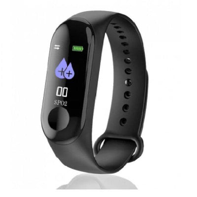 Pack Of 2-M3 Smart Health Band Watch-W08 Smart Watch Sim Supported - Paksa Pk