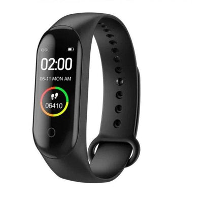 Pack Of 2-V5 Android Smart Watch-M4 Smart Fitness Band - Paksa Pk