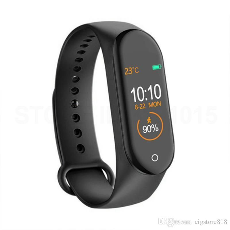 M4 Smart Band Silicone Strap Black - Paksa Pk