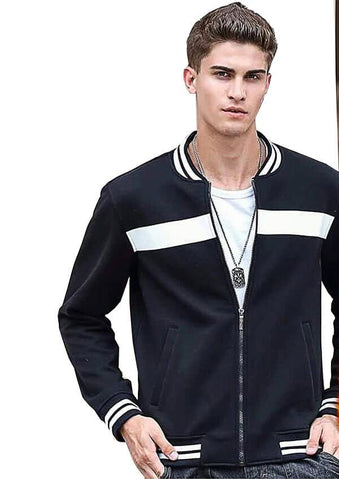 Navy Blue jacket For Men - Paksa Pk