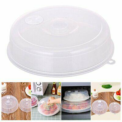 Plastic Microwave Plate Lid Cover With Steam Vent 25 cm - Paksa Pk