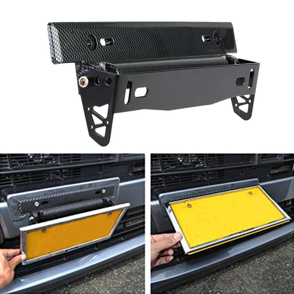 Adjustable Car Number Plate Holder