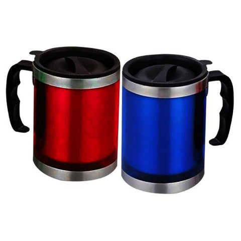 Pack Of 2 - Coffee Mugs Red & Blue - Paksa Pk