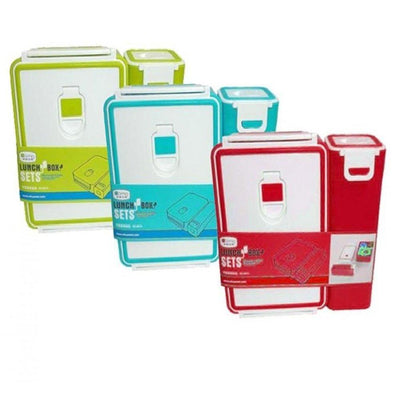 Pack of 3 - Baby Water Bottle & Lunch Box - Paksa Pk