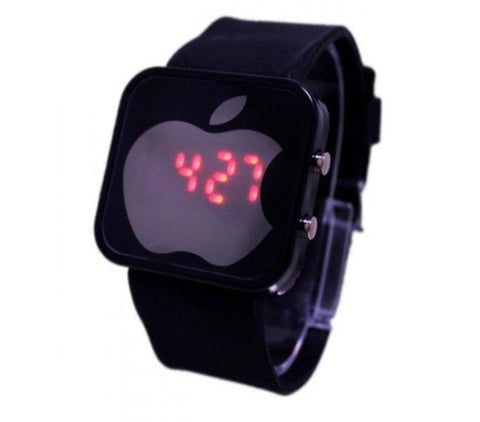 Black Digital Apple Watch for Boys - Paksa Pk