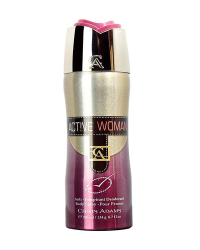 Active Women Body Spray Deodorant - 200 ml - Paksa Pk