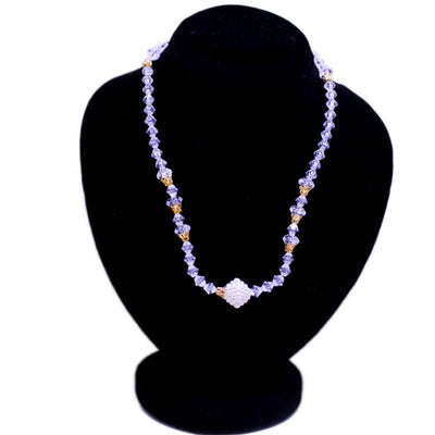 Crystal Beads Mala Pendant For Women - Paksa Pk