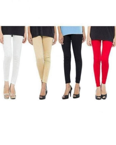 Pack of 4 Tights For Women - Paksa Pk