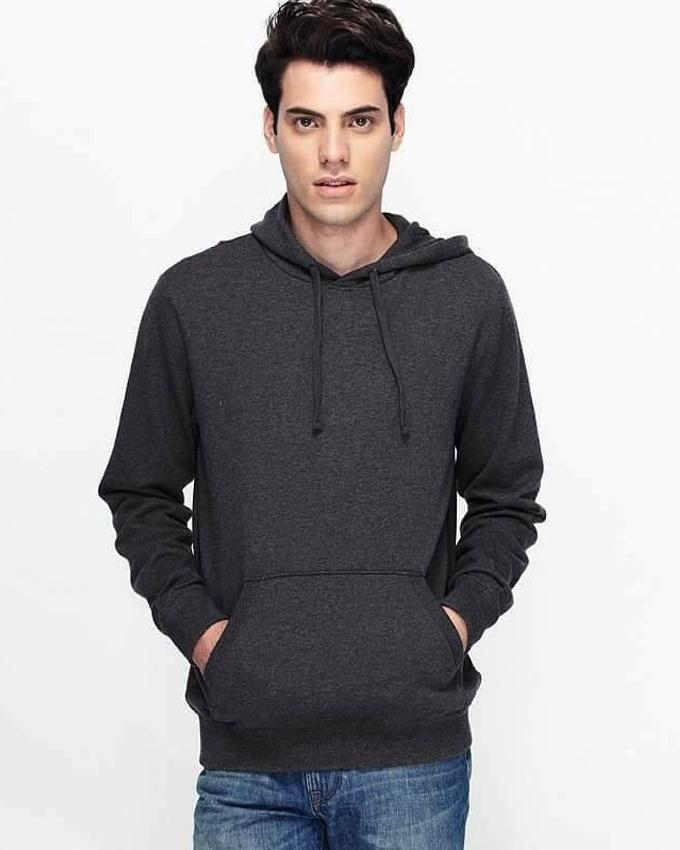 STEEL GREY HOODIE FOR MEN - Paksa Pk
