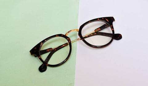 Black Frame Glasses For Women - Paksa Pk